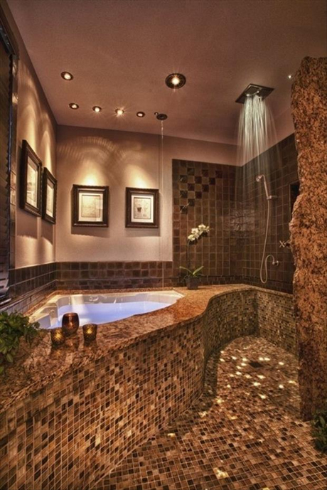 breathtaking black bathroom shower | Amazing Showers That Are Better Than Yours – 23 Pics ...